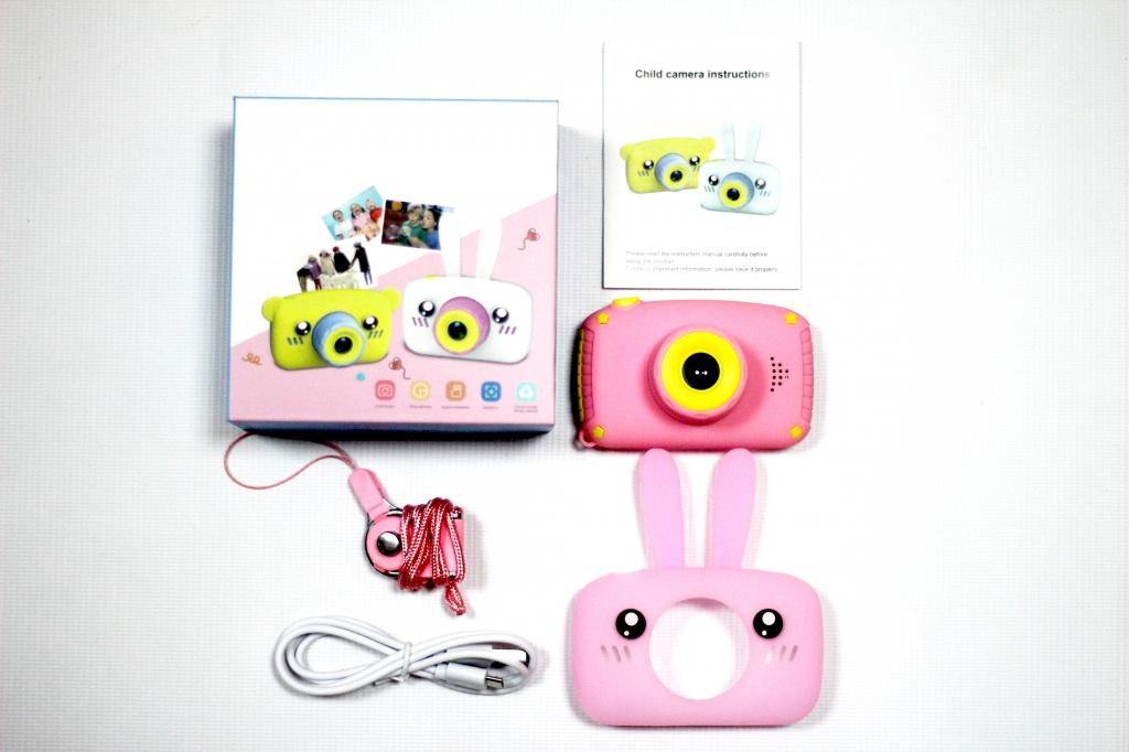 Комплектация детского фотоаппарата Зайка от 7-toy.ru
