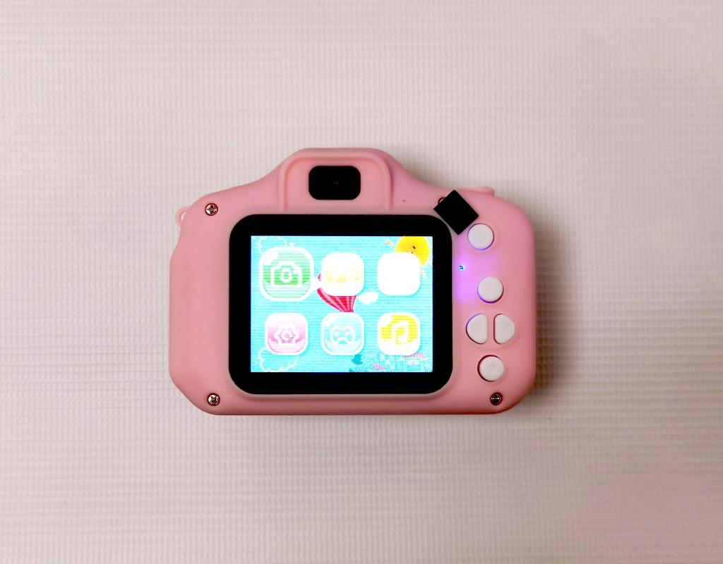 Меню детского фотоаппарата Котик от 7-toy.ru