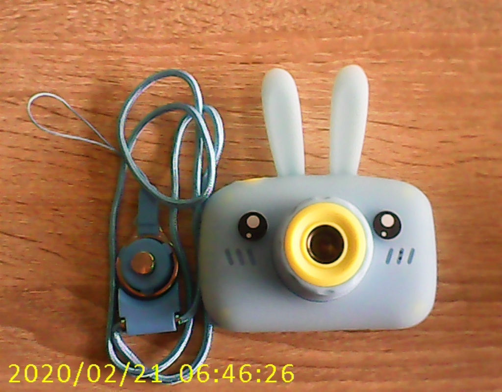 Фото сделанное детским цифровым фотоаппаратом