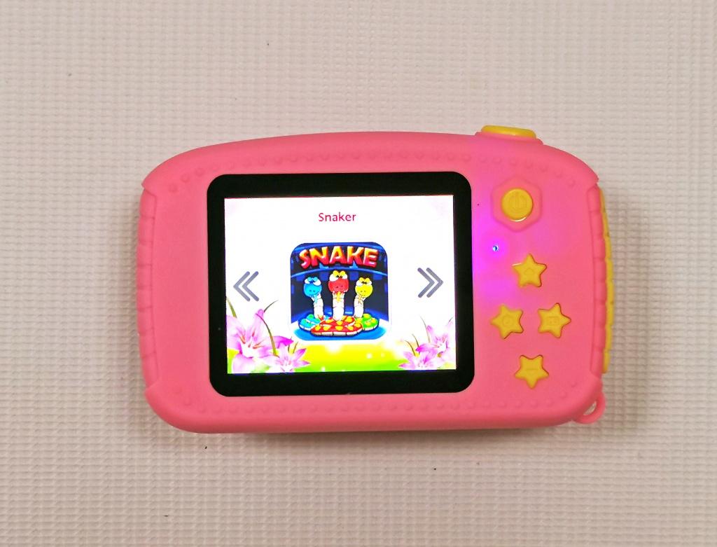 Функция игр в детском цифровом фотоаппарате Зайка
