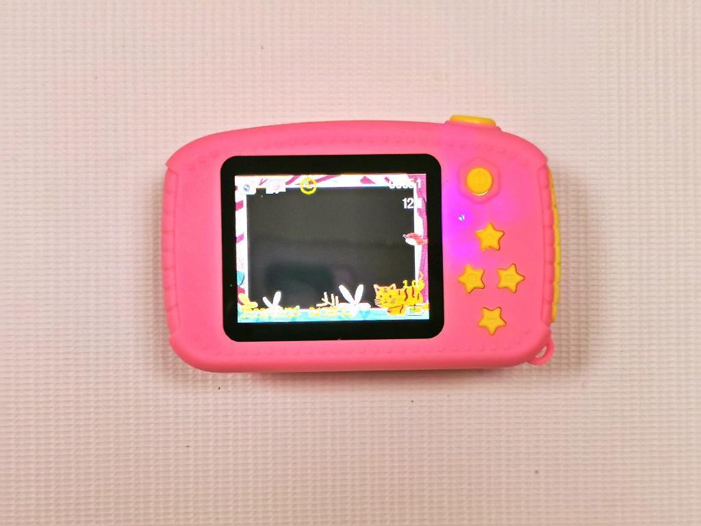 Функция масок в фотоаппарате для детей Зайка